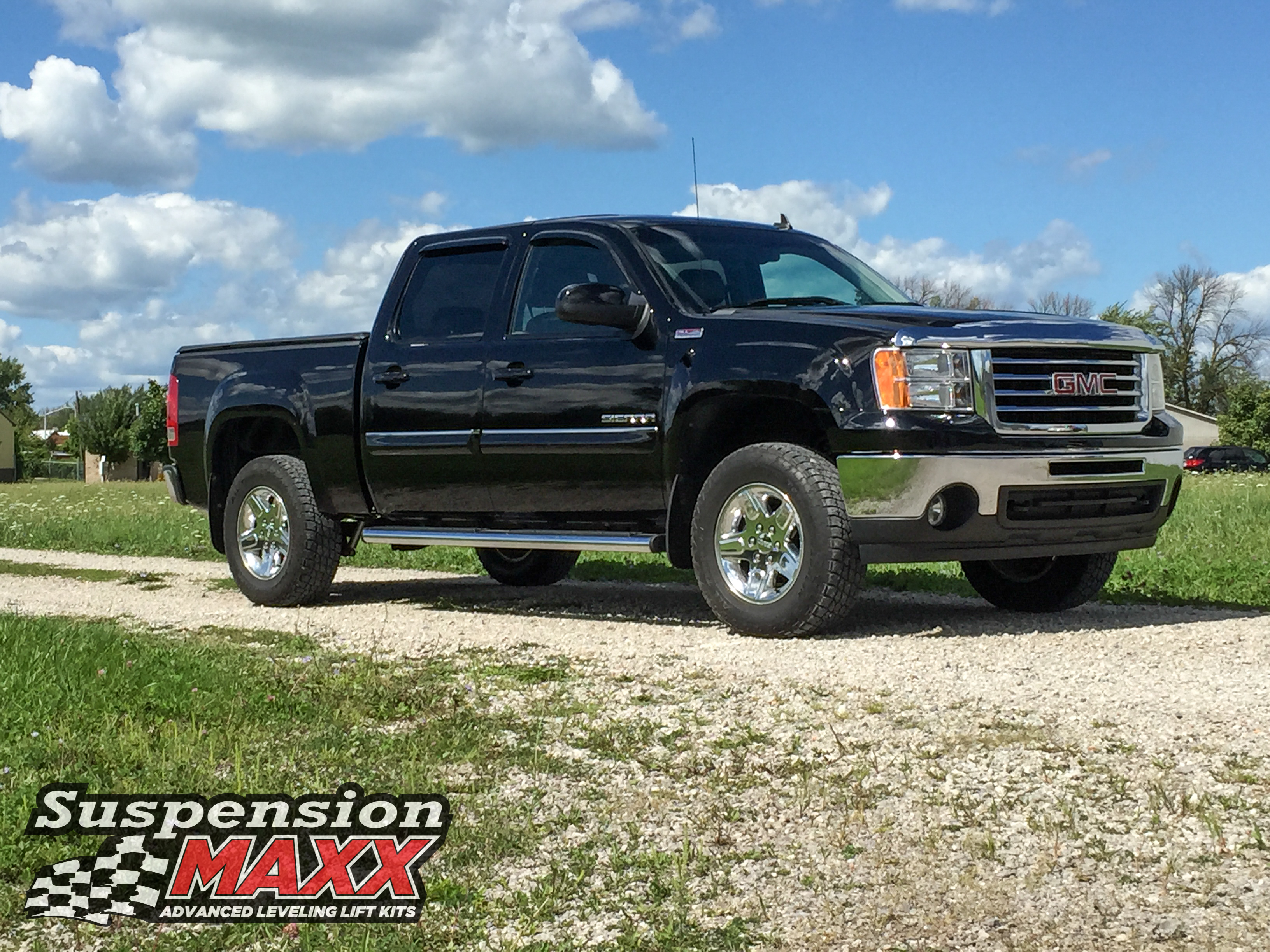 Maxxstak 1 5 2 2 25 2 5 Adjustable Front Leveling Kit Standard Suspension Smx Gm725 Suspensionmaxx